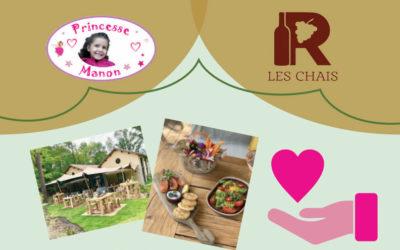 26 septembre : soirée caritative au Domaine de Raba « Princesse Manon »