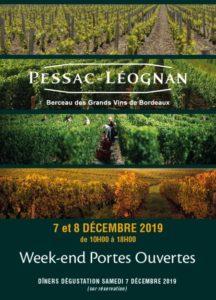 Affiche des Portes Ouvertes de Pessac-Léognan