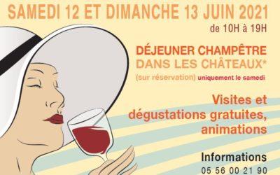 Estivales 2021 – Journées Portes Ouvertes au Château Léognan